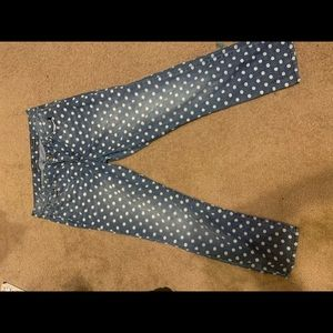 Ashley Simpson Polka Dot jeans